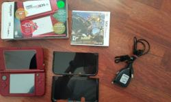Selling my hardly used Black Nintendo 3DS XL with
