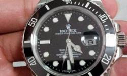 Selling Preowned AAA grade replica Rolex Submariner