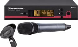 Sennheiser EW135G3 (Wireless HandHeld mic set) Sturdy