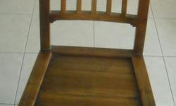8 dining chairs. Solid wood. Very good condition.