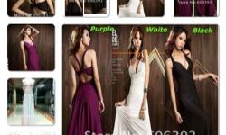 SEXY LOW V-NECK GOWN MATERIAL: cotton LENGTH---133