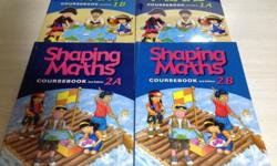 Shaping maths coursebook 2nd edition 1a, 1b, 2a, 2b,