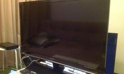 "Sharp Aquos 32"" LED TV one month old. Like new, in box."