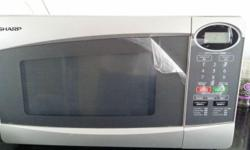 Sharp Microwave oven in Excellent condition. Even the