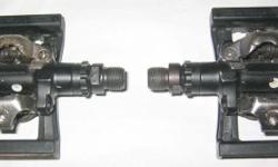 Shimano SPD pedals for mountain bike preowned items -