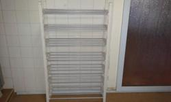 Shoe rack: cm 52 x 19 x 91 No delivery,