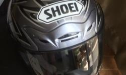 SHOEI X9 M size in good condition 9/10, never drop or