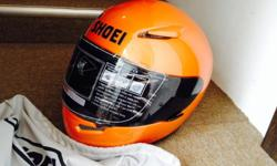 Selling my under used Shoei helmet. Still in excellent