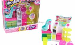 Shopkins Shoe Dazzle Mid Price Playset Age: 5+ Price: