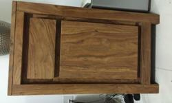 Regretful safe . Selling due to relocation. Teak wood