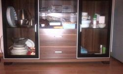 Sturdy wooden sideboard / cabinet for sale. Dimensions