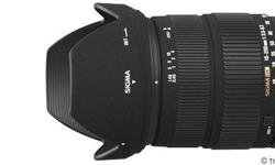 SIGMA 18-200 mm F/3.5-6.3 DC for Canon mount. Mint