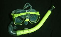 adult diving mask with snorkel set..retailing at $45 at
