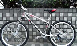 Silver Bike - Brand New , rear disc brake - (Free