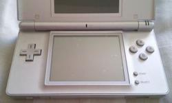 selling used silver Nintendo DS lite coz want to