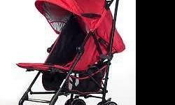 Used silver cross stroller - Red colour one . No