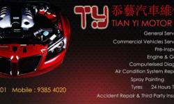 TIAN YI MOTOR SERVICE has more than 18 years of