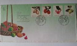 Singapore First Day Cover on Local Fruits (issued on 26