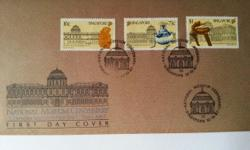 Singapore First Day Cover on National Museum Centenary