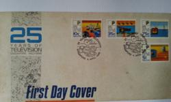Singapore First Day Cover on 25 years of television