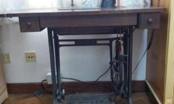 Antique Singer Sewing Machine, more than 50 years old,