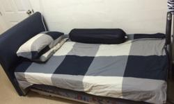 - Single Bed With Pull Out Decker - Genuine Leather -