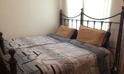 Metal Single Bed in good condition with Mattress only