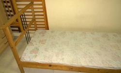 Excellent condition single bed with firm-support