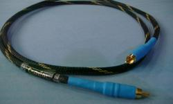 Single Length of Digital Coaxial 75 ohm audio streaming