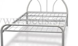 Selling: Single Metal Bed Frame (white) as shown in