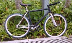 Single speed bicycle Alloy frame Swift city get around