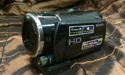 I am selling my slightly used sony camcorder with the