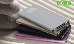 *Golf 10000mAh Powerbank comes in 4 colours: