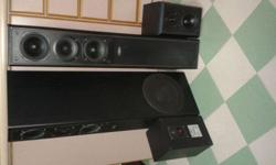 QUALITY DENMARK ELTAX 3 WAYS 4 SPEAKERS, DIMENSION 26 X