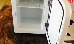 Mini fridge hot and cold option available. Brand new.