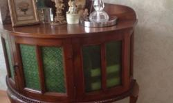Classy teakwood cabinet which we adored so much but due