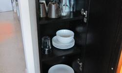 Small Shelving Unit, great for glasses, and plates. In