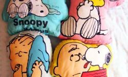 Snoopy pillows Each At $5 or all four at $10!