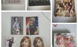 Selling all of my collections of SNSD items. mainly