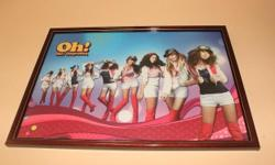 SNSD Posters With AAA grade Frame! Letting go at $35