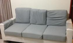 New like sofa four seater (3+1) for SGD 250..self