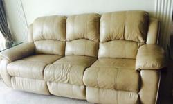3 seater recliner sofa Only used for less than one