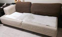 Sofa for sale. Can be converted into sofa bed.