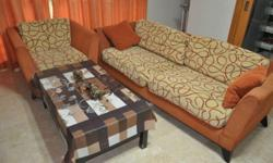 3 +1 seater sofa 2+ year old Good condition