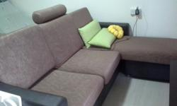 Good condition used sofa comes with extra cover selling