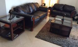 MOVING SALE: Traditional Style, 5 seater sofa set (one