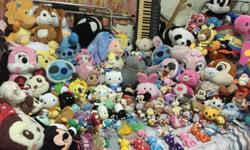 Massive clearance of soft toys. come and have a look.