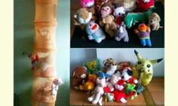 Price reduced from $75 to $30!!! Most soft toys (about