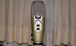 SOLD! This is a USB Studio Recording Microphone. It is