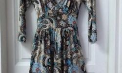 Popular Paisley Printed Wrapped Dress from COOPER ST.